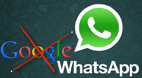 whatsapp el google